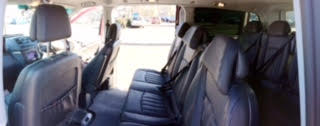 Mercedes Tour Minibus Interior