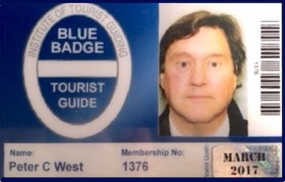 Peter West Blue Badge