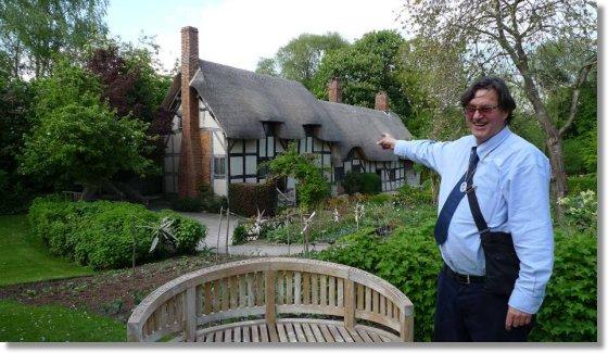 Peter West illustrates Anne Hathaways Cottage